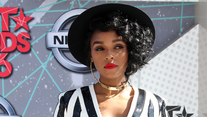 Janelle at the BET Awards