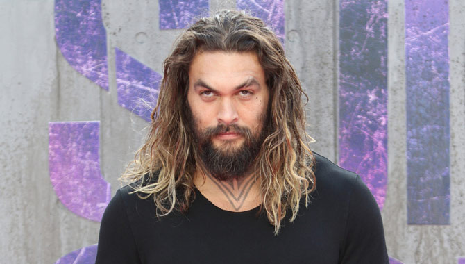 Jason Momoa snapped on the red carpet