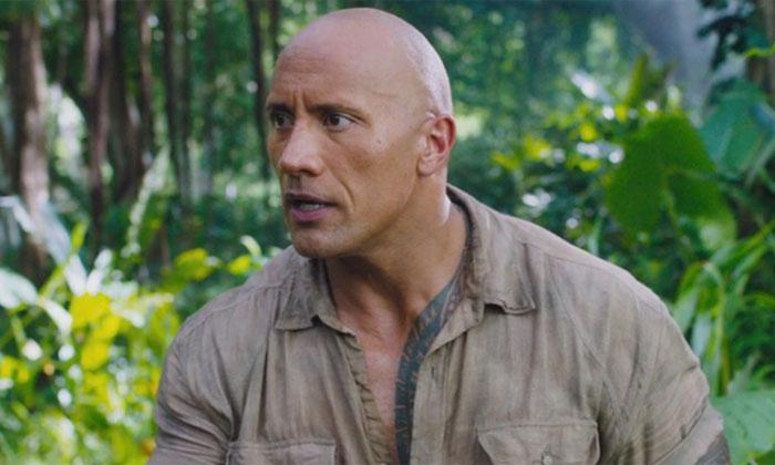 Dwayne Johnson leads the new 'Jumanji' film, set for release in December