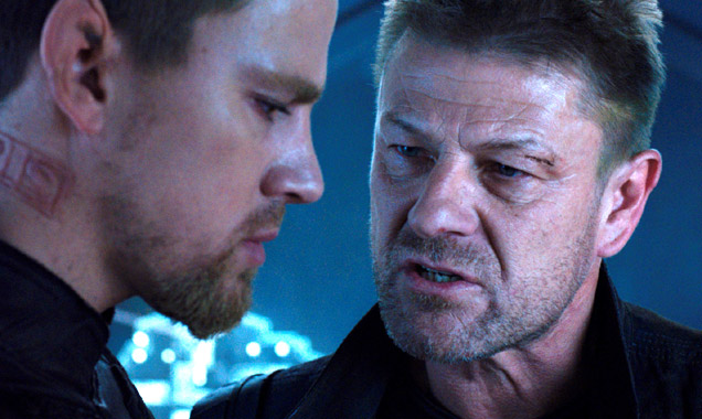 'Jupiter Ascending' stars Channing Tatum, Mila Kunis and Sean Bean