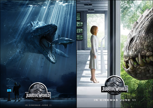 Jurassic World Posters