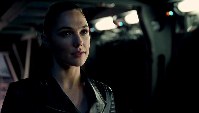 Gal Gadot reprised her role as Diana Prince in 'Justice League'