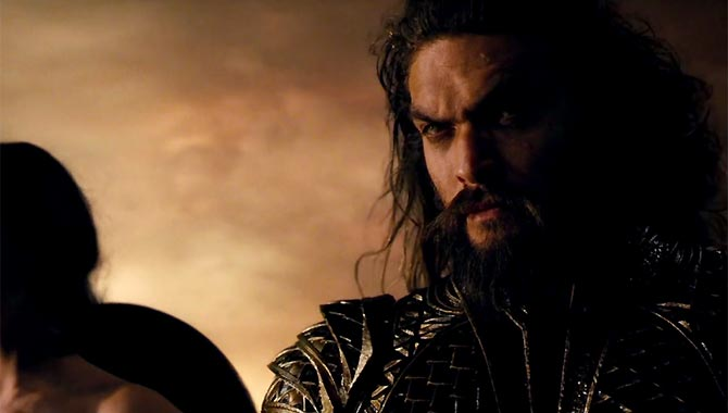 Jason Momoa Explains Why Aquaman Has Blonde Highlights In 'Justice League'