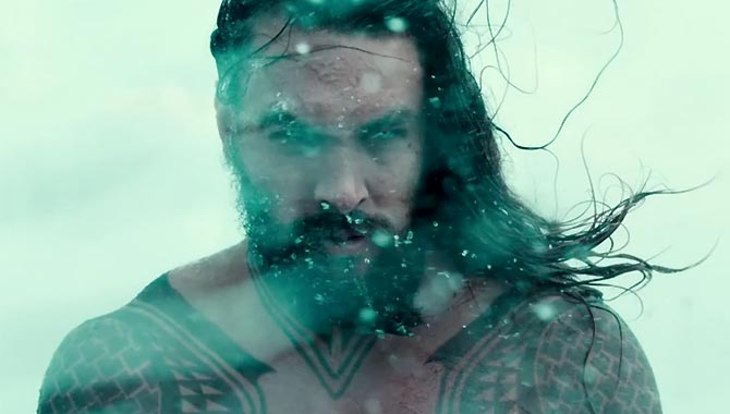 "Jason Momoa Teases ""Huge Battle Scenes Underwater"" In 'Aquaman'"