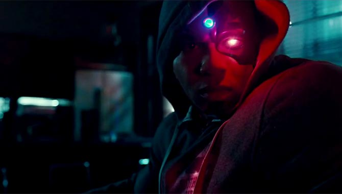 Ray Fisher will star as Cyborg in this year's 'Justice League' movie