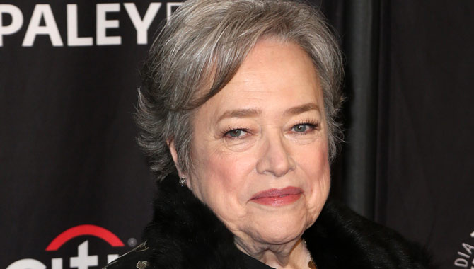 Kathy Bates at PaleyFest 2017