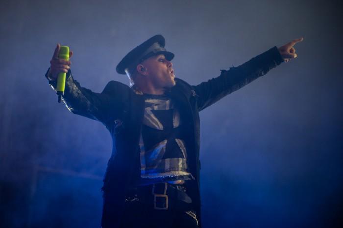 Keith Flint performing at Rock im Park in 2015 / Photo Credit: Matthias Merz/DPA/PA Images