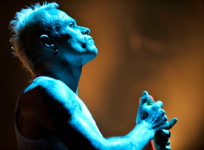 Keith Flint performs with The Prodigy at Wembley Arena in 2009 / Photo Credit: Matt Crossick/Empics Entertainment