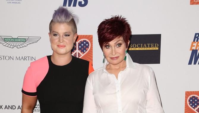 Sharon Osbourne and Kelly Osbourne