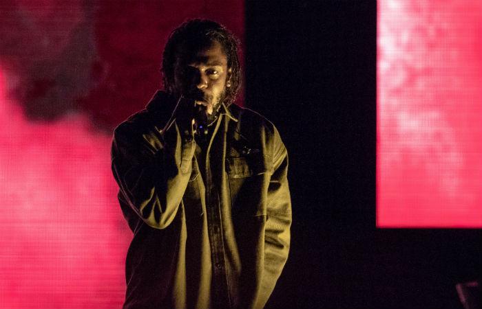 Kendrick Lamar at Made In America Music Festival 2018 / Photo Credit: Daniel DeSlover/Zuma Press/PA Images