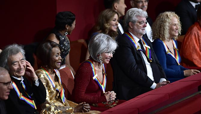 George Lucas And Carole King's Kennedy Center Honors Gala Hits CBS