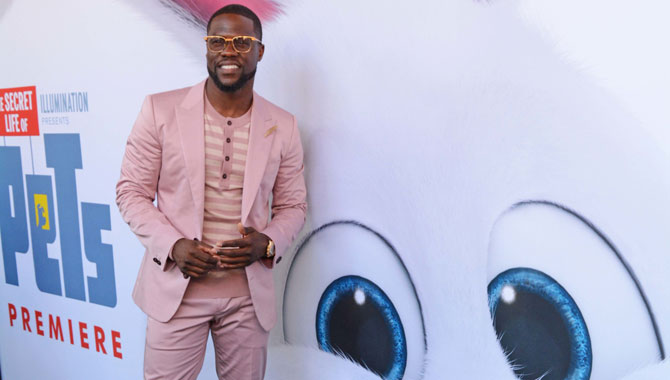 Kevin Hart at The Secret Life Of Pets Premiere