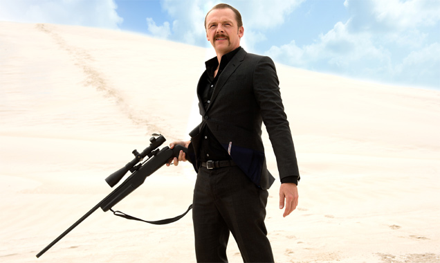 Simon Pegg in 'Kill Me Three Times'