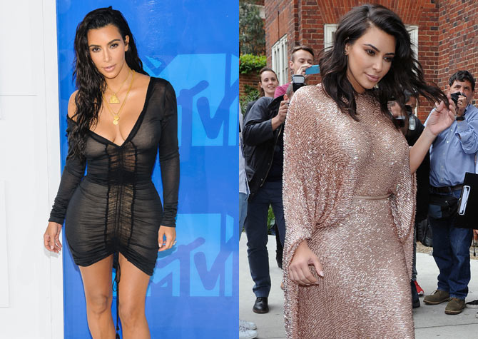 Kim made an appearance at the MTV Music Awards and at the Vogue Festival