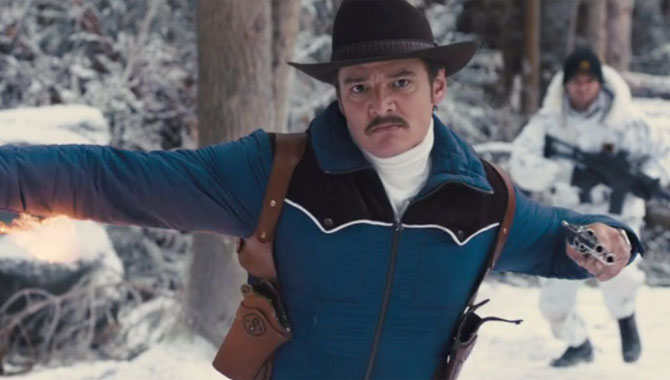 Pedro Pascal plays Agent Whiskey