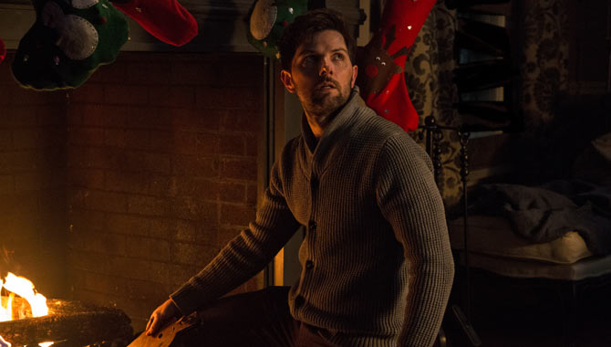 Adam Scott in Krampus