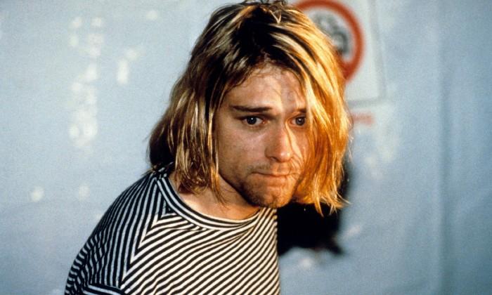 Kurt Cobain at the MTV Video Music Awards, 1993 / Photo Credit: Starfile/All Action/EMPICS Entertainment/PA Images