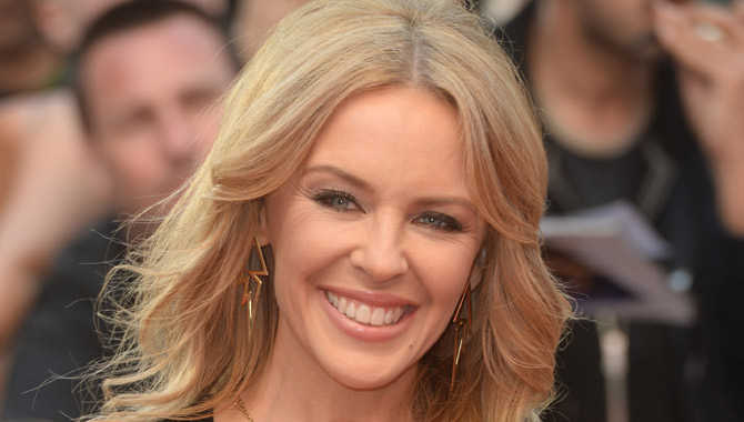 Kylie Minogue pictured in 2015