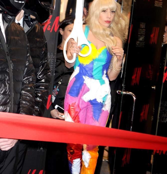 Lady Gaga, Times Square