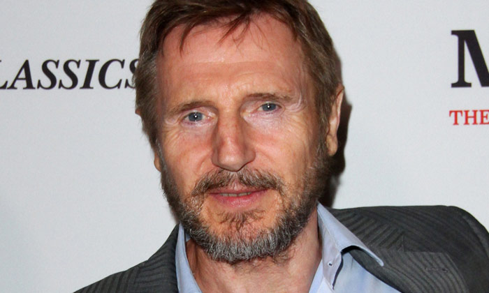 Liam Neeson at the premiere of 'Mark Felt: The Man Who Brought Down the White House'