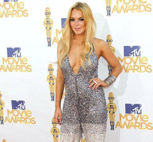 Lindsay Lohan at 2010 MTV Movie Awards