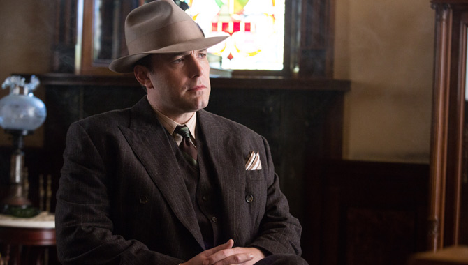 Ben Affleck stars in 'Live By Night'