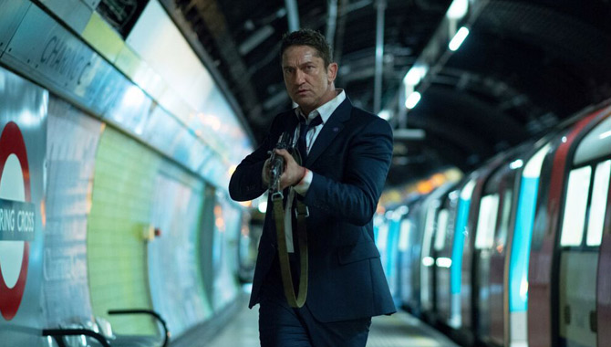 Gerard Butler stars in the second film of the series