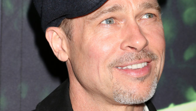 Brad Pitt Smiles As He Joins 'The Lost City Of Z' Cast At LA Premiere [Pictures]