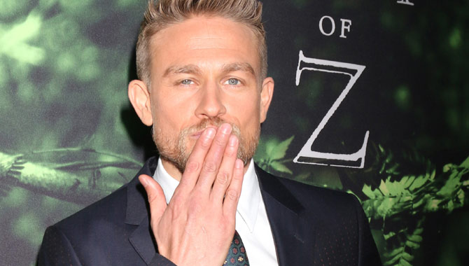 Charlie Hunnam has the lead role in 'The Lost City of Z'