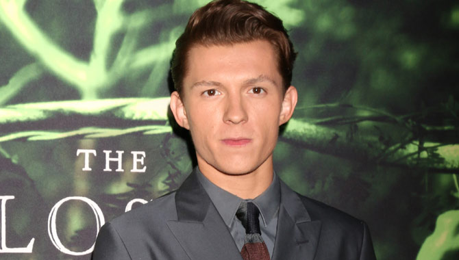 Tom Holland joins the cast of 'The Lost City of Z' at the LA premiere