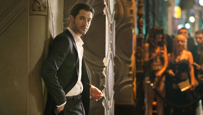 Tom Ellis leads 'Lucifer' in the titular role
