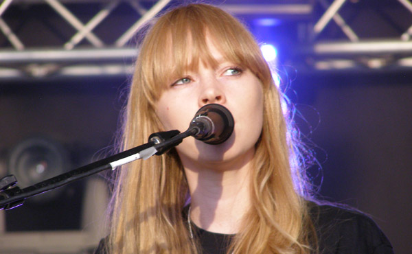 Lucy Rose Playing Live at Lounge On The Farm 2013