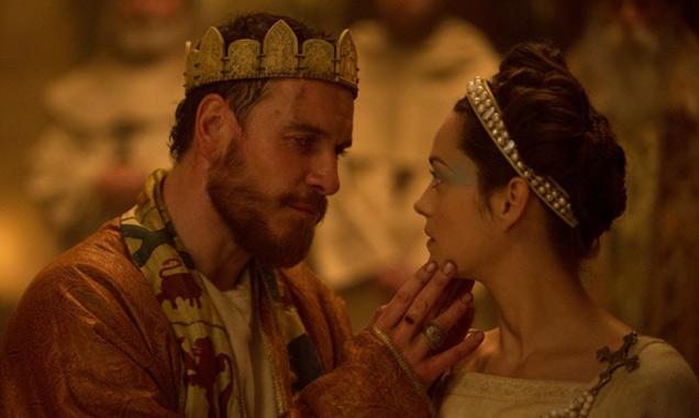 Marion Cotillard and Michael Fassbender in 'Macbeth'