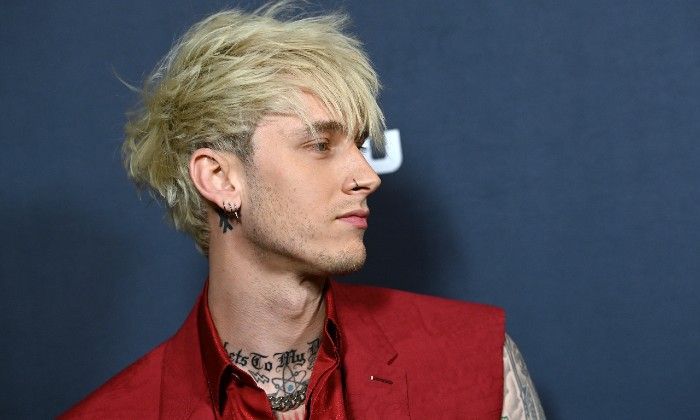 Machine Gun Kelly at the Big Time Adolescence premiere 2020 / Photo Credit: Anthony Behar/SIPA USA/PA Images