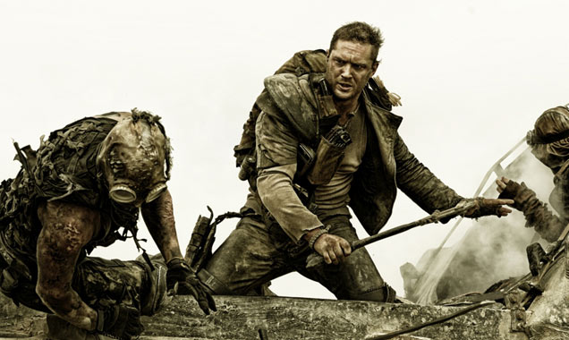 Tom Hardy took over from Mel Gibson in the Mad Max role
