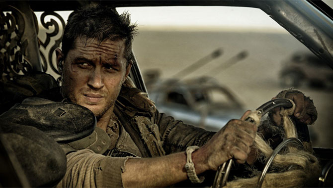 Tom Hardy starred alongside Charlize Theron in 'Mad Max: Fury Road'