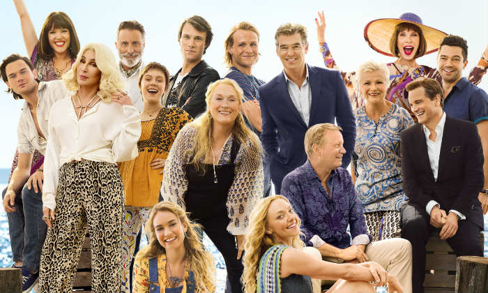 The cast of 'Mamma Mia 2'
