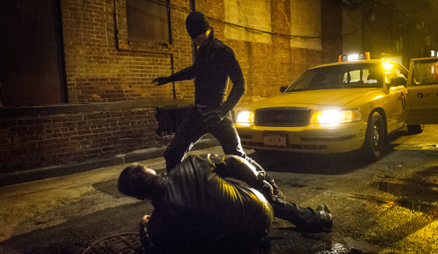 Charlie Cox stars in Marvel's original series as titular hero Daredevil