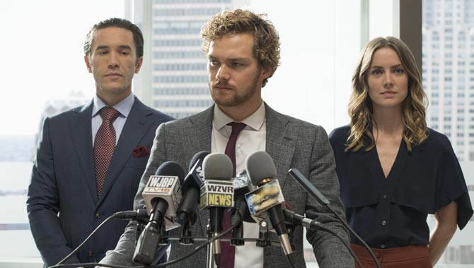Finn Jones is Danny Rand in 'Marvel's Iron Fist'