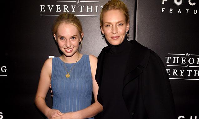Uma Thurman and daughter Maya