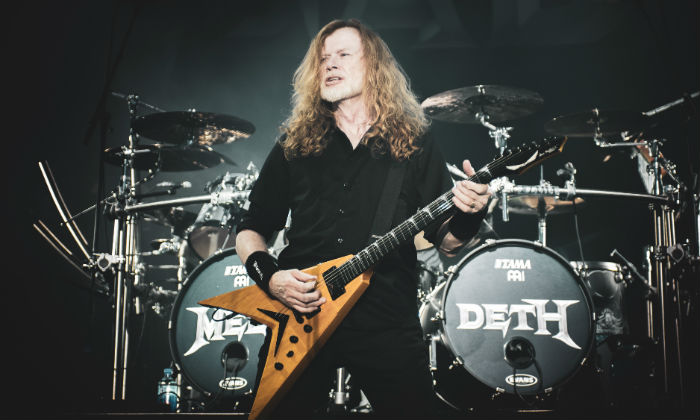 Megadeth performing in Milan, 2020 / Photo Credit: Pacific Press/SIPA USA/PA Images