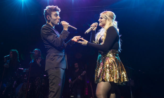 Meghan Trainor and Nathan Sykes live