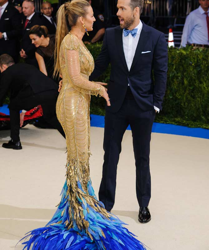 Blake Lively wore Atelier Versace at the 2017 Met Gala
