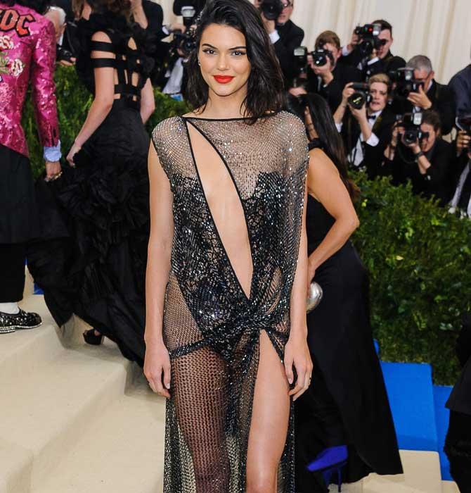 Kendall Jenner wore La Perla at the 2017 Met Gala