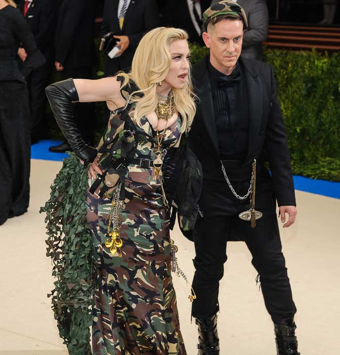 Madonna wore Moschino at the 2017 Met Gala