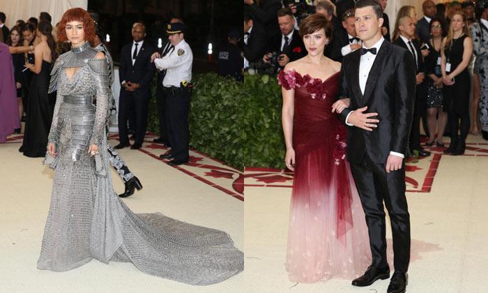 Zendaya and Scarlett Johansson - Met Gala 2018