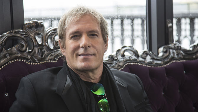 Michael Bolton at Hard Rock Cafe in Germany