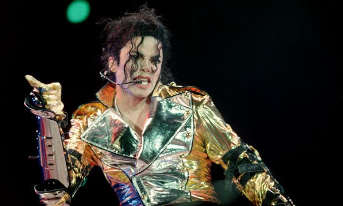 Michael Jackson, 1996 / Photo Credit: Tomas Turek/Czech News Agency/PA Images