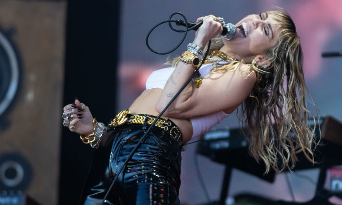 Miley Cyrus at Glastonbury 2019 / Photo Credit: Aaron Chown/PA Wire/PA Images