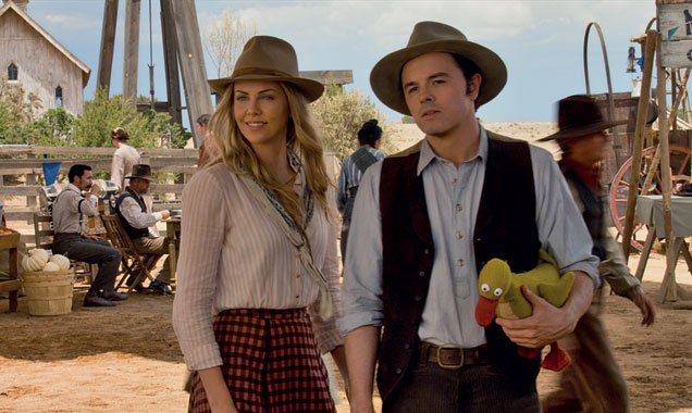 Charlize Theron taught Seth MacFarlane how not to die in 'A Million Ways To Die In The West'